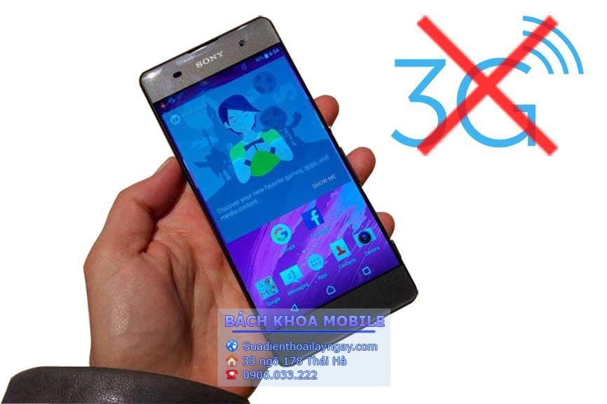 Sửa lỗi mất sóng 3g trên smartphone sony